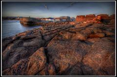 Dunbar Old Harbour (Alan Weir) Tags: sea stone dunbar oldharbour