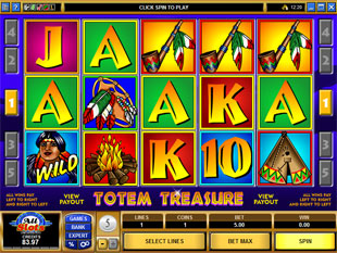 Totem Treasure slot game online review