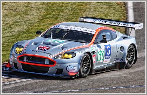 Gigawave Motorsport Aston Martin DBR9 GT1 Le Mans Series Silverstone