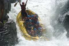 Whitewater Rafting - Tunnel Shoot