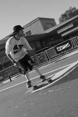 Skate Hard (St0rmz) Tags: street sky white black ramp shane board air skate skater trick reuter