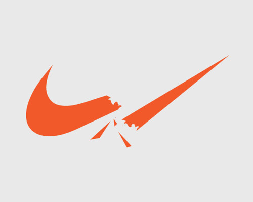 NIKE logo restyling for Brand Murder contest
