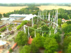 Hansapark en miniature (runlama) Tags: germany deutschland miniature shift mini alemania rollercoaster tilt tyskland allemagne germania alemanha achterbahn miniatur hansapark freizeitpark almanya sierksdorf runlama