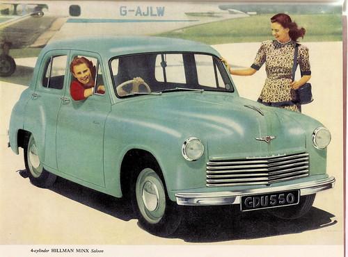 Hillman Minx Postwar Phase Models 1946 1956 Car Spotters