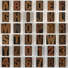 wood type 3 (Leo Reynolds) Tags: wood fdsflickrtoys photomosaic type alphabet alphanumeric abcdefghijklmnopqrstuvwxyz woodtype 0sec abcdefghijklmnopqrstuvwxyz0123456789 hpexif groupfd groupphotomosaics mosaicalphanumeric xratio11x jjpm xleol30x xphotomosaicx