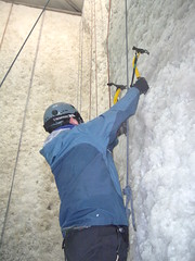 DSCF3071 (subflux) Tags: irish ice water training fun indoor tools climbing tired axe balance practice ropes climber cascade hardwork crampon tool iceclimbing waterice exciting pumped axes kinlochleven tiring darkskiez indoorclimbing bryars icefactor exhilerating icetools steepice iceaxes markbryars verticalice