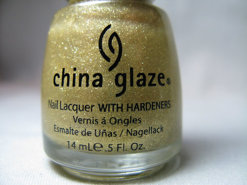 China Glaze 5 Golder Rings Nail Polish