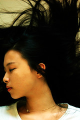 Always been wait and see (starsinmysocks) Tags: life woman girl beauty hair asian friend random korean nikond40