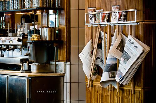Brüssel Reisetipps - CAFÉ BELGA