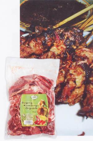 Daging Kambing Organik HPA