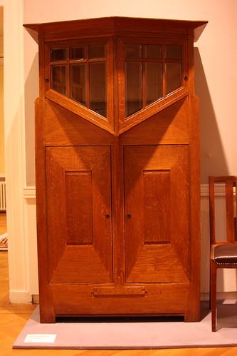 Victor Horta Cabinet. Drents Museum.