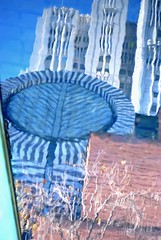 dribble (pbo31) Tags: sanfrancisco california city november blue urban usa color reflection fall water fountain northerncalifornia museum architecture nikon contemporary sfmoma structure bayarea soma d200 yerbabuenagardens 2009 3rdstreet southofmarket sanfranciscomuseumofmodernart sanfranciscocounty