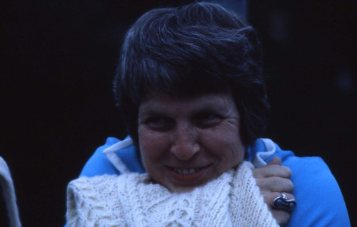 West Germany 1980 - Alice in her Warm Sweater #2