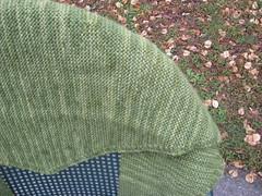 Another closeup (chelzanidas) Tags: green alpaca scarf knitting wasabi shibuiknits batkus