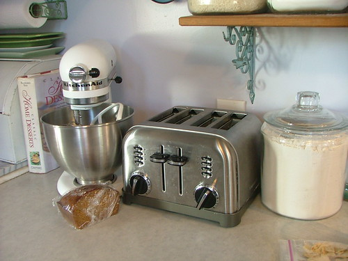 mixer and toaster
