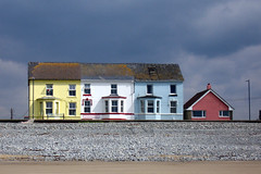 4 houses, Borth (mojacobs) Tags: sea wales coast victorian updatecollection ucreleased