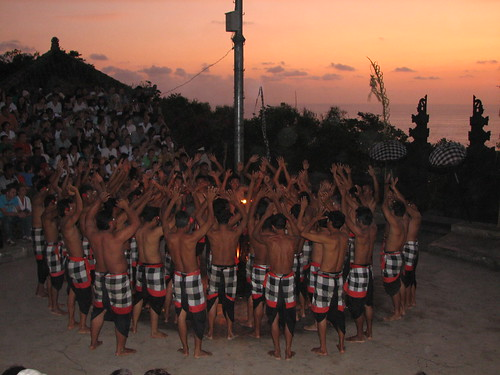 Kecak and Fire dance, Uluwatu, Bali