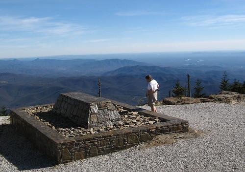 Elisha Mitchell's grave