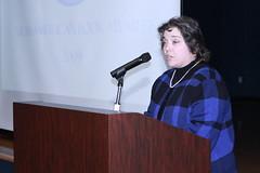2009 Arab American Book Award Ceremony (Arab American National Museum) Tags: speech bookaward arabamerican aanm alicecrosetto fayeqoweis