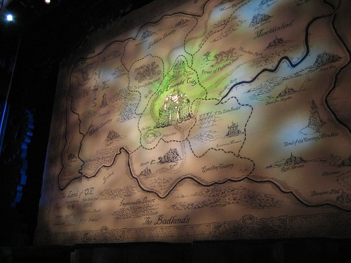 Map of OZ