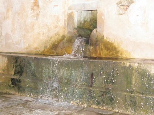 the fountain in Krasi village