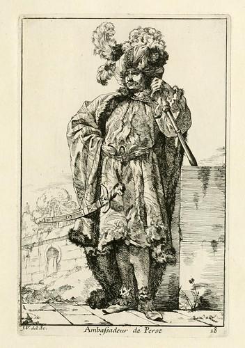 015- Embajador de Persia-Caravanne du sultan ala Mecque…1748- Joseph Vien