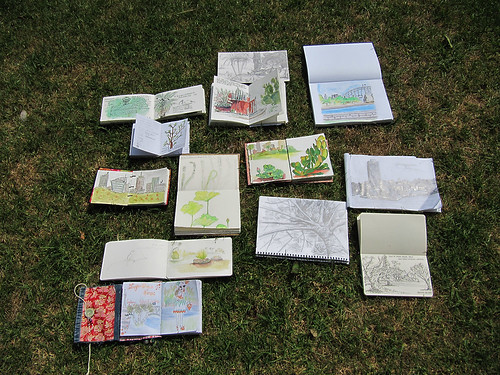 Sydney Sketchcrawl 25 Sketches