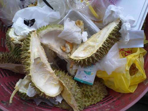 Durian Husks