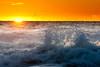 Gray Whale Cove Burst (Amicus Telemarkorum) Tags: california sunset sky water golden surf waves explosion surge graywhalecove jeffreyrueppelphotography waveeffect