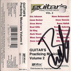 12/13/02 Night Ranger/Knight Crawler @ Maplewood, MN (Guitar's Practicing Musicians Cassette Autographed by Brad Gillis)