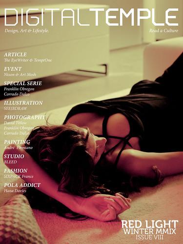 DIGITAL TEMPLE Magazine #8 Issue : RED LIGHT.