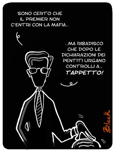 Fini Berlusconi Mafia