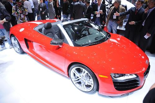 Audi R8 Spyder LA Autoshow 2009