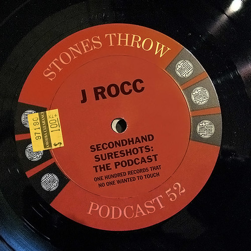 "J ROCC ""Secondhand Sureshots"" podcast"