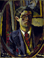 "Duncan Grant, 1885 - 1978. Artist (Self-portrait). National Galleries of Scotland (renzodionigi) Tags: portrait painting design engraving autoritratto ritratto arts"" ""fine ""selfportrait"""