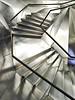 CaixaForum -  Madrid - Internal staircase to first level - Scala interna per il primo livello (mluisa_) Tags: madrid steel staircase scala herzogdemeuron acciaio caixaforum architetti mluisa bratanesque