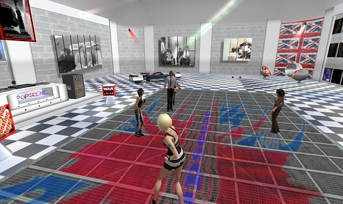 popscene party in second life