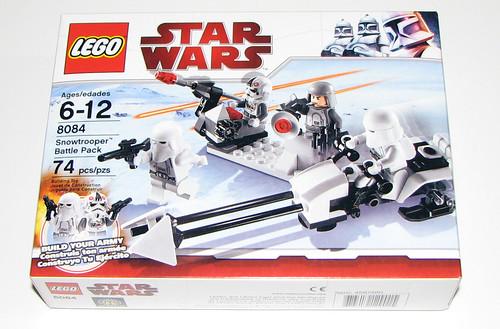 2010 LEGO Star Wars 8084 Snowtrooper Battle Pack