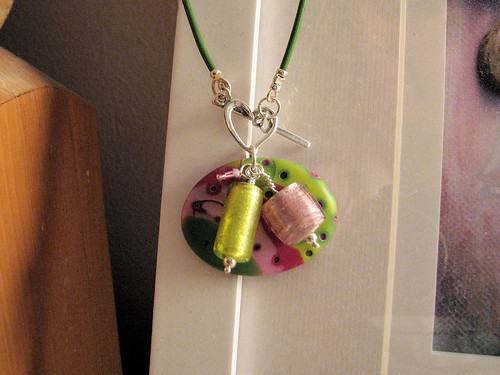 Simple necklace transformed