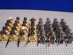 BABC main line infantry (PizzaMovies Productions (PMP)) Tags: army lego contest wars clone entry builder brickarms babc pizzamovies