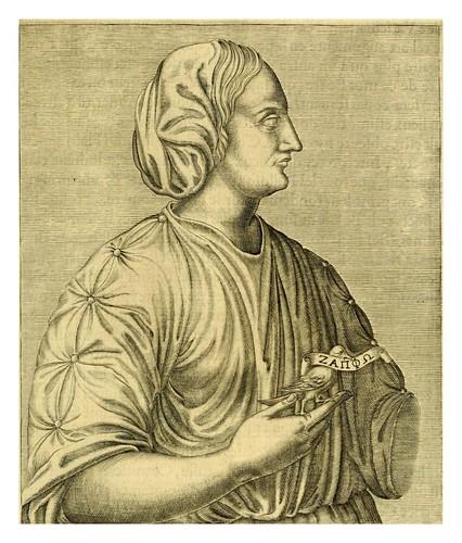 008-Safo-Les vrais pourtraits et vies des hommes illustres grecz, latins et payens 1584-André Thevet