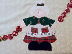 Toalha de natal (Denise Bierende) Tags: natal toalha papainoel mesa painel americano trilho rvoredenatal pinheirinho mamenoel pan jogoamericano panello