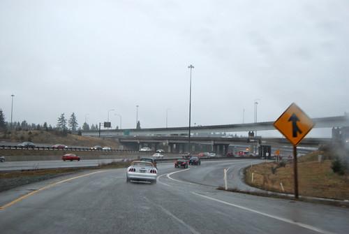 SR 99 @ I-5 northward