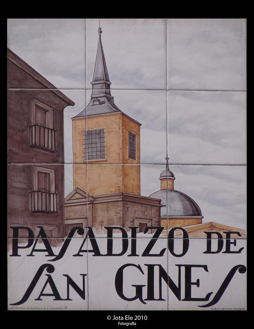 Pasadizo de San Ginés I