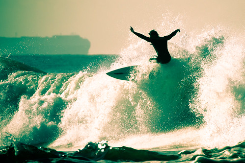 [Free Image] Exercise / Sport, Water Sports, Wave, Surfing / Surfer, 201106211300