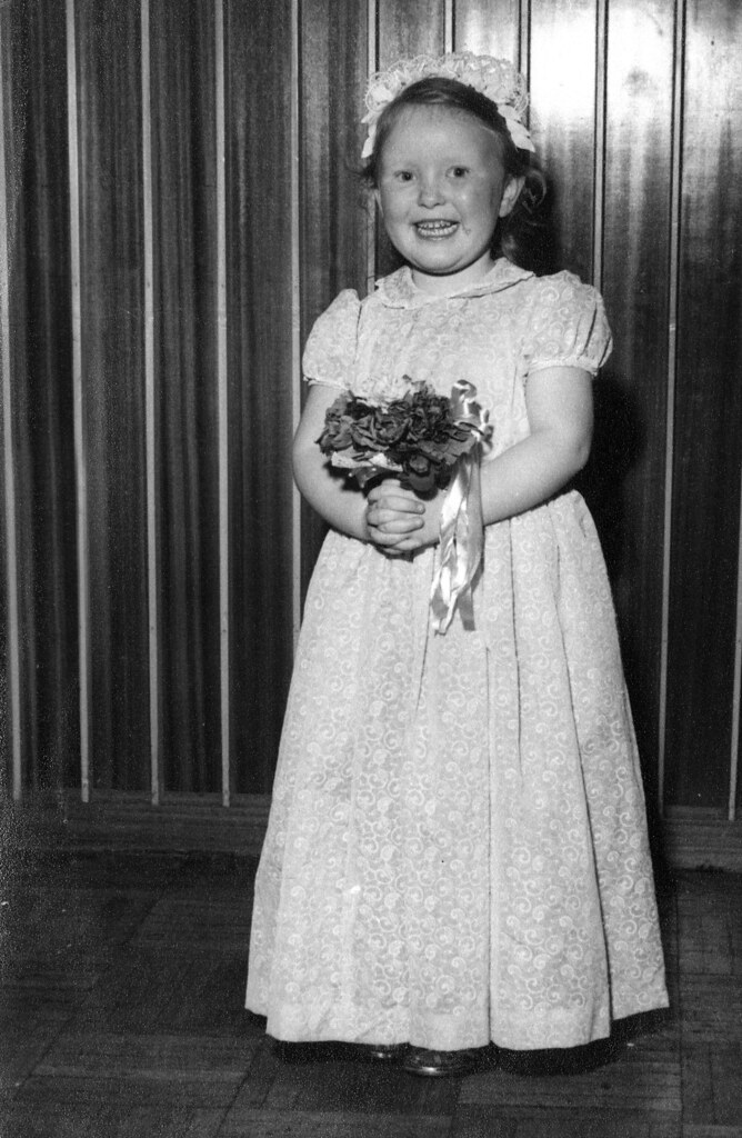 Nan aged 5 1950s