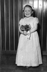 Image titled Nan aged 5 1950s