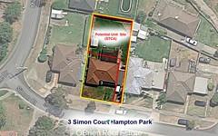 3 Simon Court, Hampton Park VIC