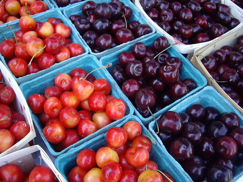 Cherries from Gillogly Orchard