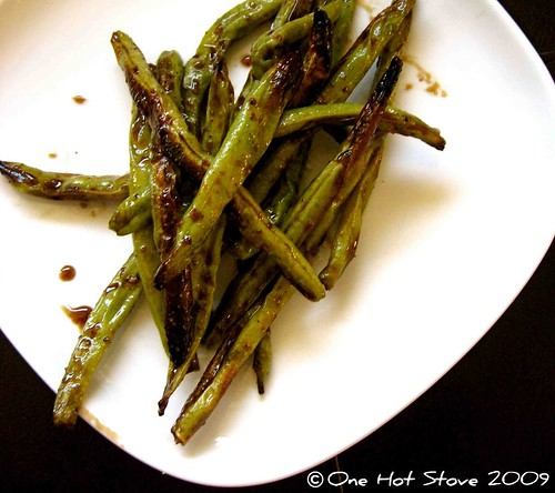 One Hot Stove: Addictive Green Beans